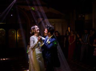 La boda de Sherezade y Angel