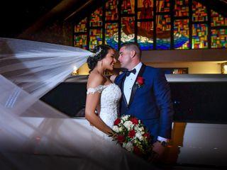 La boda de Oriana y Yanmany