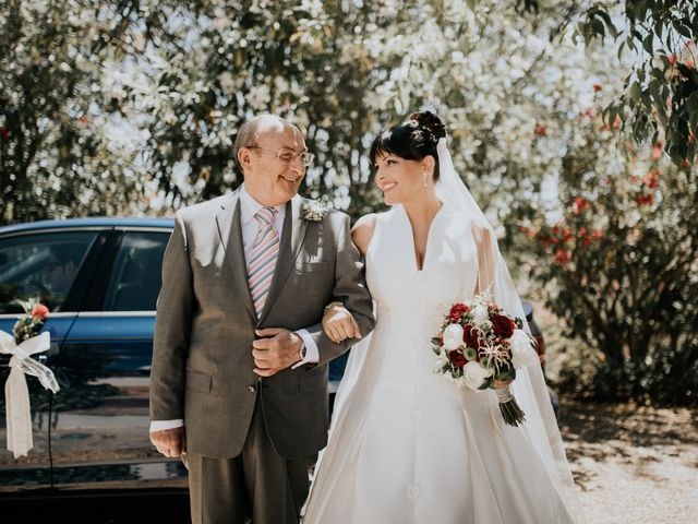 La boda de José Juan y María José en Almodovar Del Rio, Córdoba 1