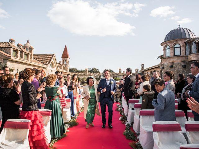 La boda de Angel y Sherezade en Mangiron, Madrid 45