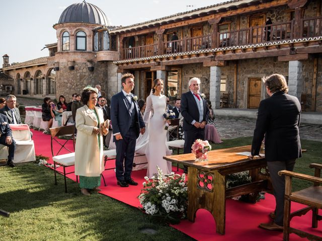 La boda de Angel y Sherezade en Mangiron, Madrid 48