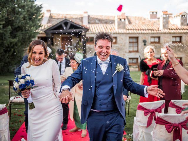 La boda de Angel y Sherezade en Mangiron, Madrid 60