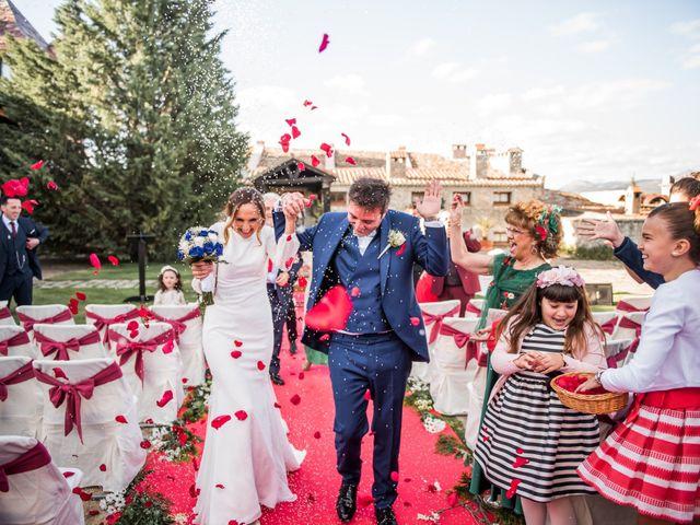 La boda de Angel y Sherezade en Mangiron, Madrid 61