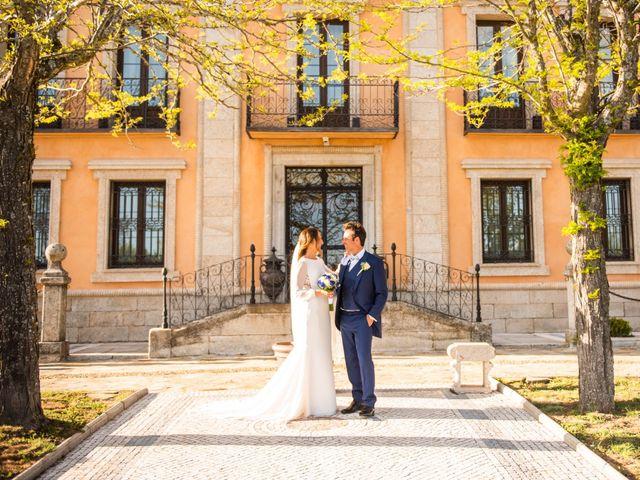 La boda de Angel y Sherezade en Mangiron, Madrid 66