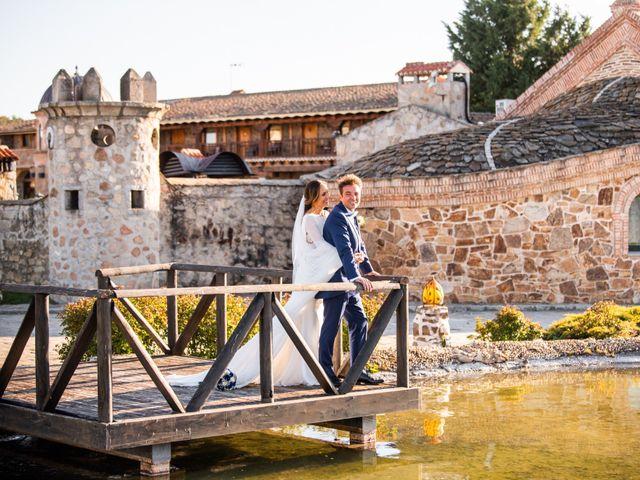La boda de Angel y Sherezade en Mangiron, Madrid 68