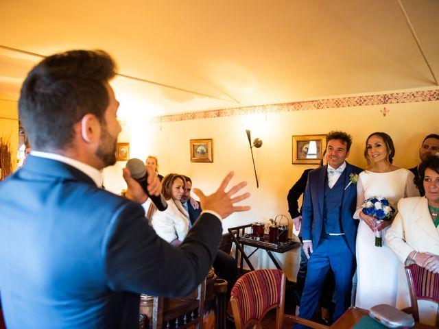 La boda de Angel y Sherezade en Mangiron, Madrid 74
