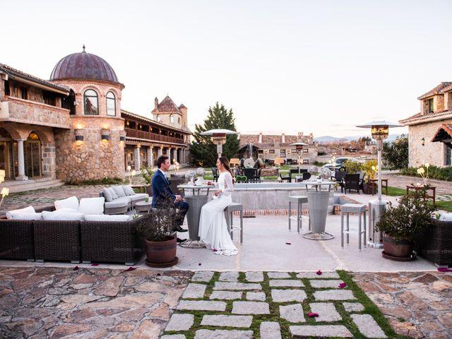 La boda de Angel y Sherezade en Mangiron, Madrid 76