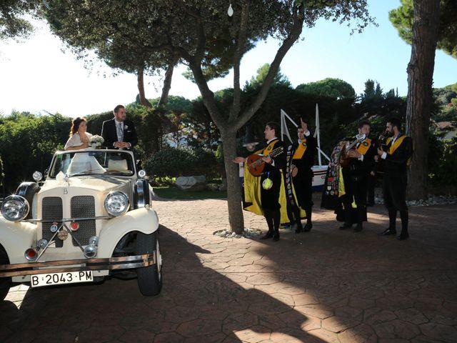 La boda de Alba y Lucio en Sant Andreu De Llavaneres, Barcelona 1