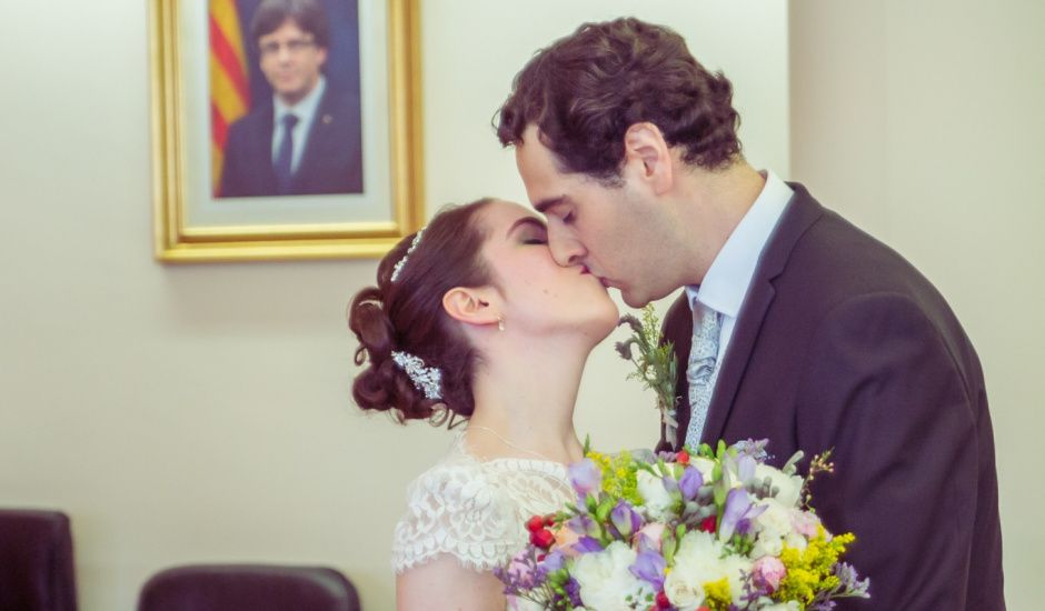 La boda de Guillem  y Sandra en Piera, Barcelona