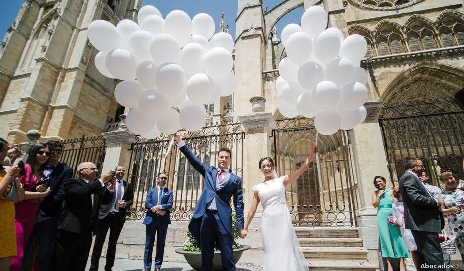 La boda de Javier y Giselle en Cembranos, León