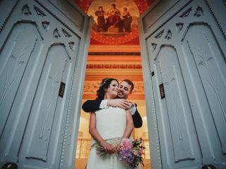 La boda de Marta y Leandro