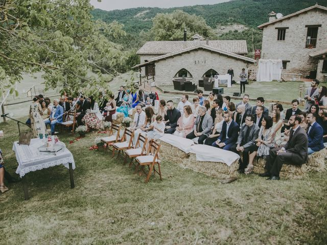 La boda de Carlos y Saida en Sant Jaume De Frontanya, Barcelona 41