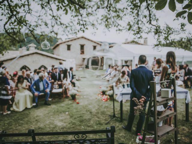 La boda de Carlos y Saida en Sant Jaume De Frontanya, Barcelona 42