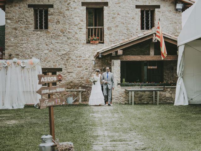 La boda de Carlos y Saida en Sant Jaume De Frontanya, Barcelona 44