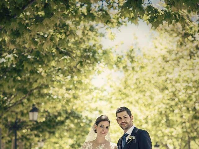 La boda de Carlos y Ester en Pozuelo De Calatrava, Ciudad Real 1