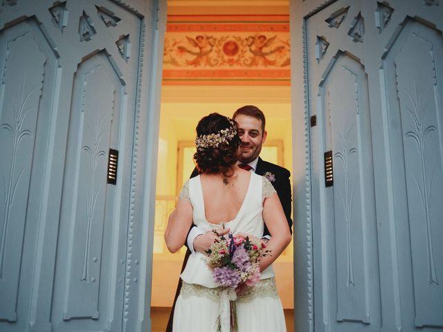 La boda de Leandro y Marta en Madrid, Madrid 92
