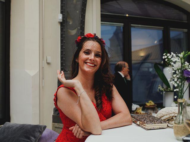 La boda de Leandro y Marta en Madrid, Madrid 99