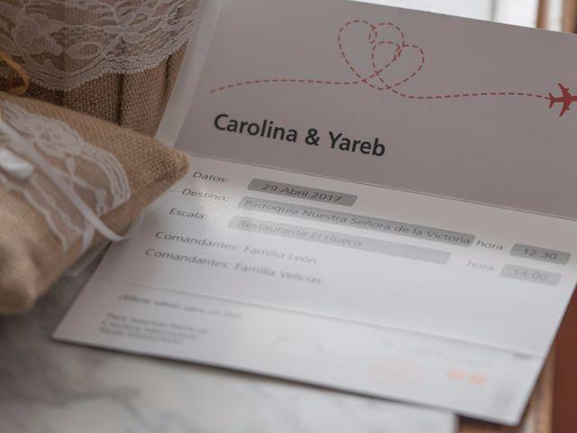 La boda de Carolina  y Yareb  en Valladolid, Valladolid 1