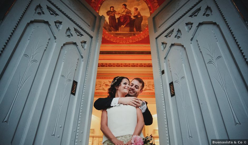 La boda de Leandro y Marta en Madrid, Madrid