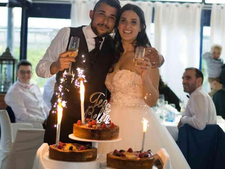 La boda de Belén y Teo