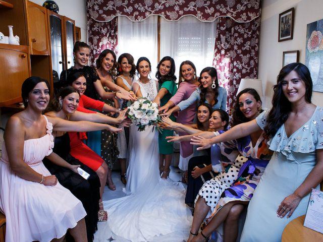 La boda de Victor y Maleni en Arroyo De San Servan, Badajoz 37