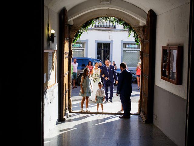 La boda de Victor y Maleni en Arroyo De San Servan, Badajoz 40