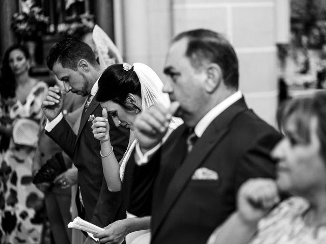 La boda de Victor y Maleni en Arroyo De San Servan, Badajoz 43