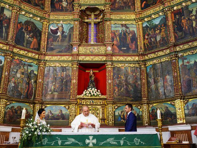 La boda de Victor y Maleni en Arroyo De San Servan, Badajoz 45