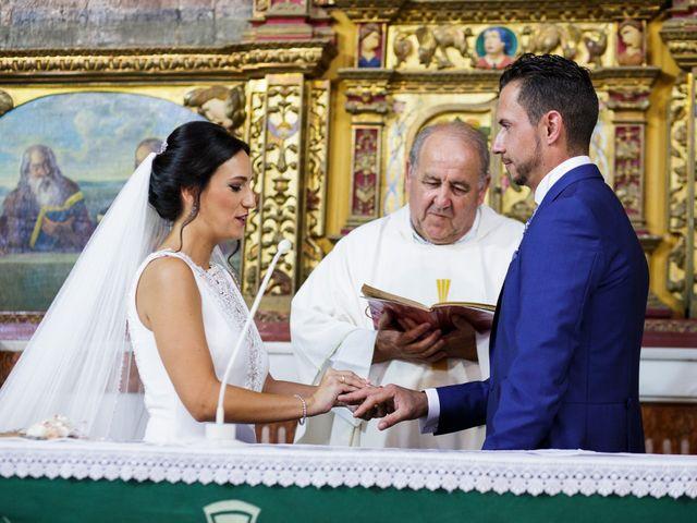 La boda de Victor y Maleni en Arroyo De San Servan, Badajoz 48