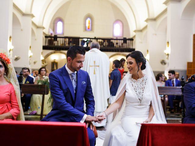 La boda de Victor y Maleni en Arroyo De San Servan, Badajoz 51