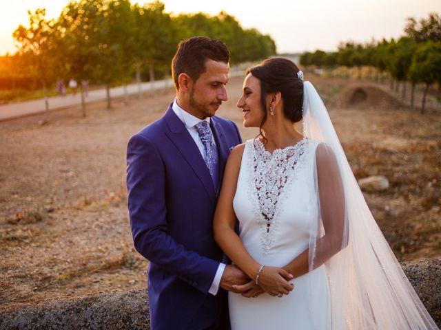 La boda de Victor y Maleni en Arroyo De San Servan, Badajoz 61
