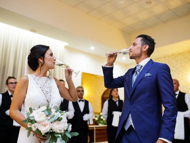 La boda de Victor y Maleni en Arroyo De San Servan, Badajoz 69
