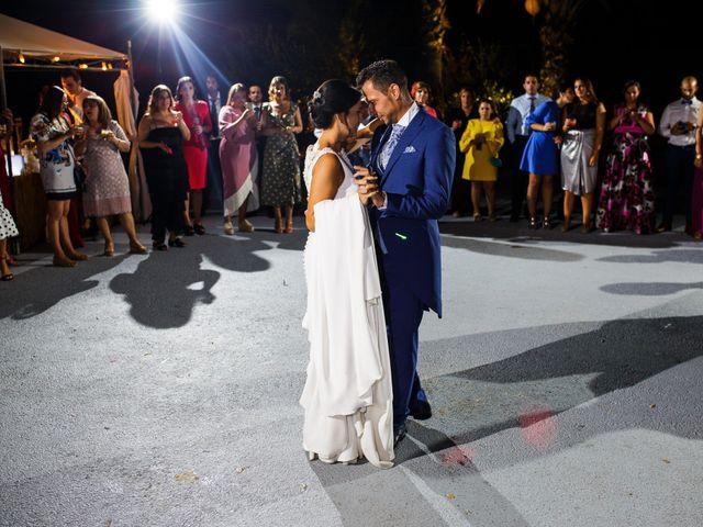 La boda de Victor y Maleni en Arroyo De San Servan, Badajoz 79