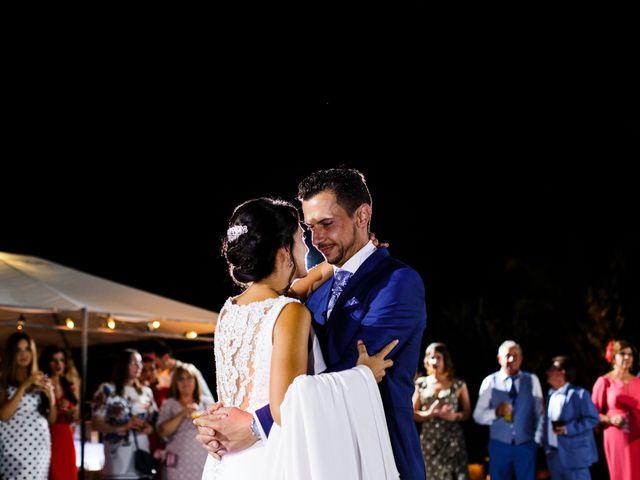La boda de Victor y Maleni en Arroyo De San Servan, Badajoz 81