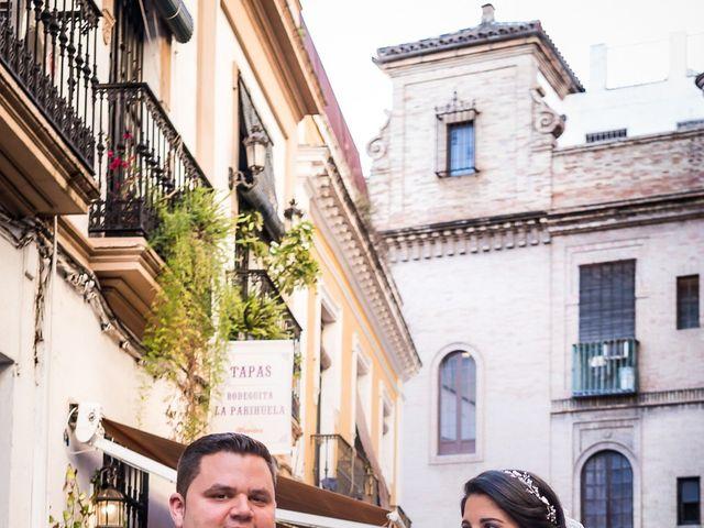 La boda de Jesús y Rosa en Sevilla, Sevilla 60