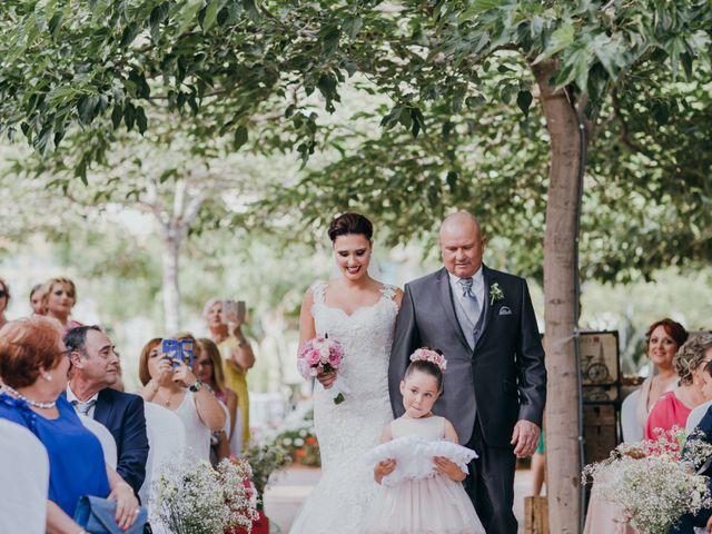 La boda de Jordan y Irene en Rioja, Almería 31
