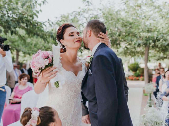 La boda de Jordan y Irene en Rioja, Almería 32