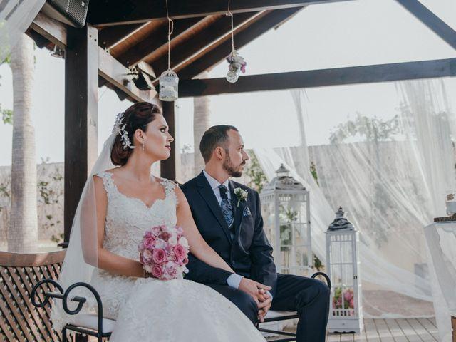 La boda de Jordan y Irene en Rioja, Almería 35