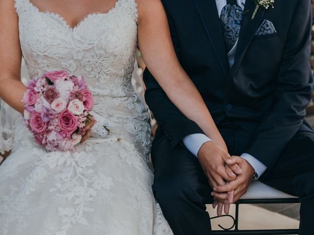 La boda de Jordan y Irene en Rioja, Almería 36