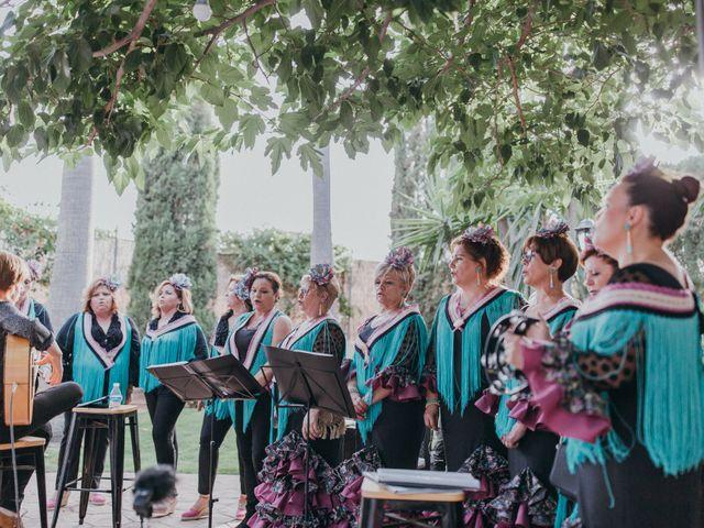 La boda de Jordan y Irene en Rioja, Almería 37