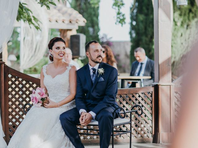 La boda de Jordan y Irene en Rioja, Almería 38