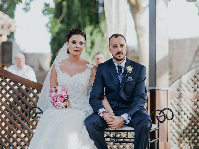 La boda de Jordan y Irene en Rioja, Almería 40