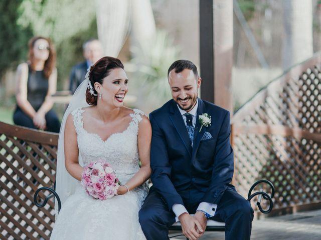 La boda de Jordan y Irene en Rioja, Almería 1