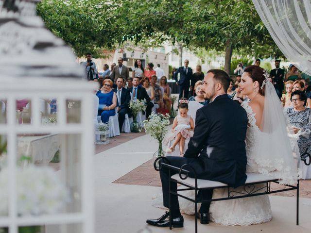 La boda de Jordan y Irene en Rioja, Almería 44