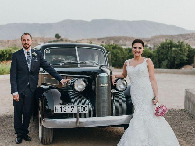 La boda de Jordan y Irene en Rioja, Almería 62