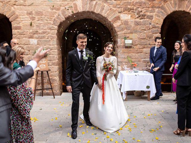 La boda de Jesús y Marta en Cardona, Barcelona 1