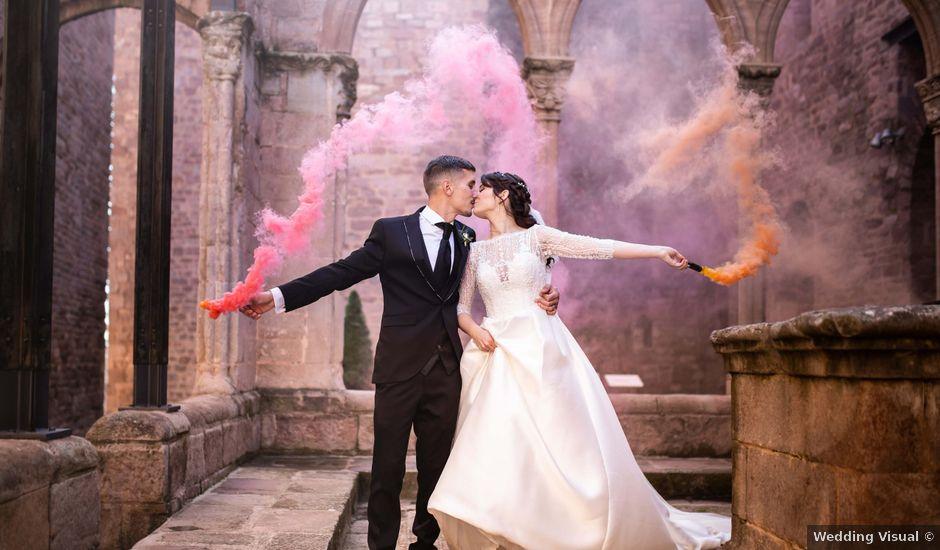 La boda de Jesús y Marta en Cardona, Barcelona