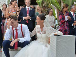 La boda de Albane y Franklin 1