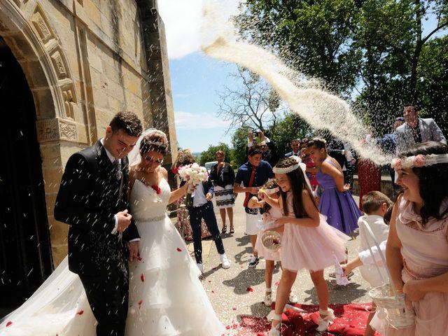 La boda de Miguel y Yaiza en San Martin De Toranzo, Cantabria 13