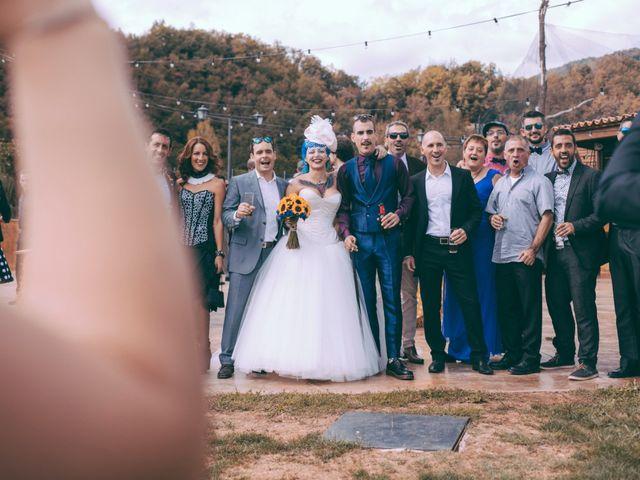 La boda de Adrián y Aida en Sant Andreu De La Vola, Barcelona 15